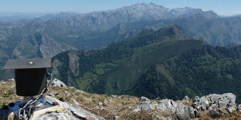 Picos de Europa desde el Pierzo